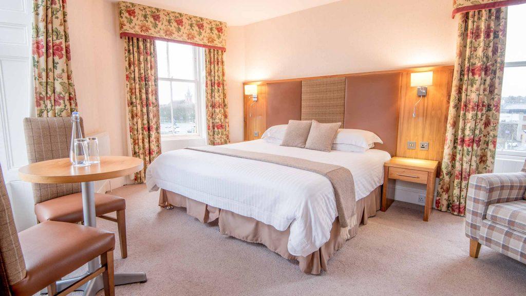 A Superior Room at Mackays Hotel
